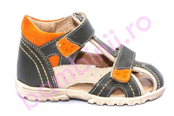 Sandale copii hokide picior lat 311 kaki port 18-25
