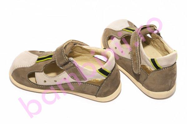 Sandale copii hokide 139 gri kaki 18-24