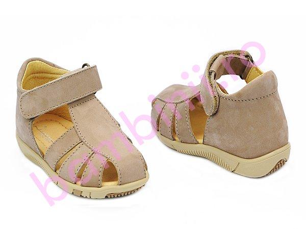 Sandale copii piele Marte 2 bej