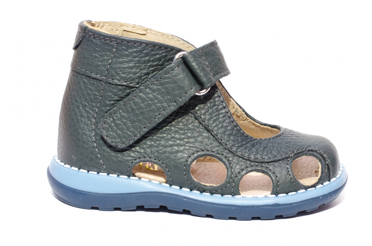 Sandale copii picior lat gros 550 gri 18-25