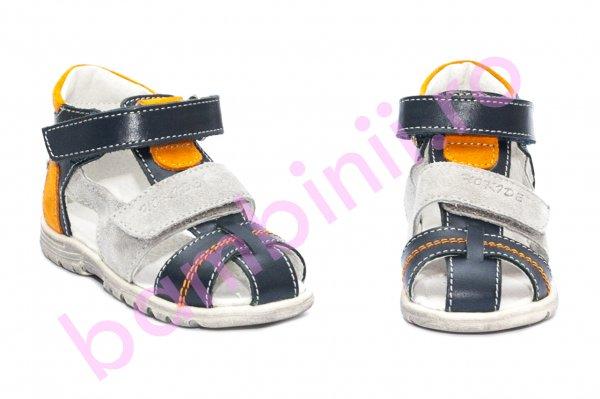Sandale copii picior lat hokide 405 blu port 18-27