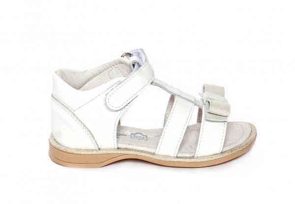 Sandale copii pj shoes Eva alb 20-26