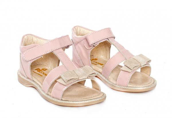 Sandale copii pj shoes Eva piersica 20-26