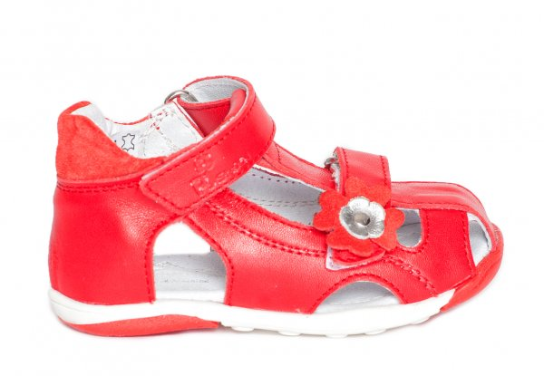 Sandale copii pj shoes Mario rosu 20-26