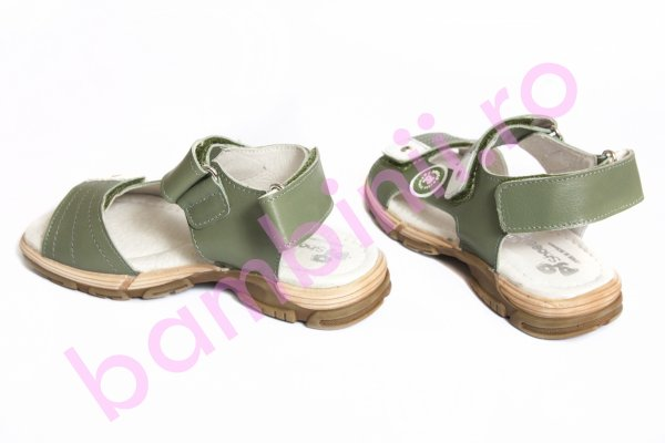 Sandale baieti pj shoes Roy kaki 27-36