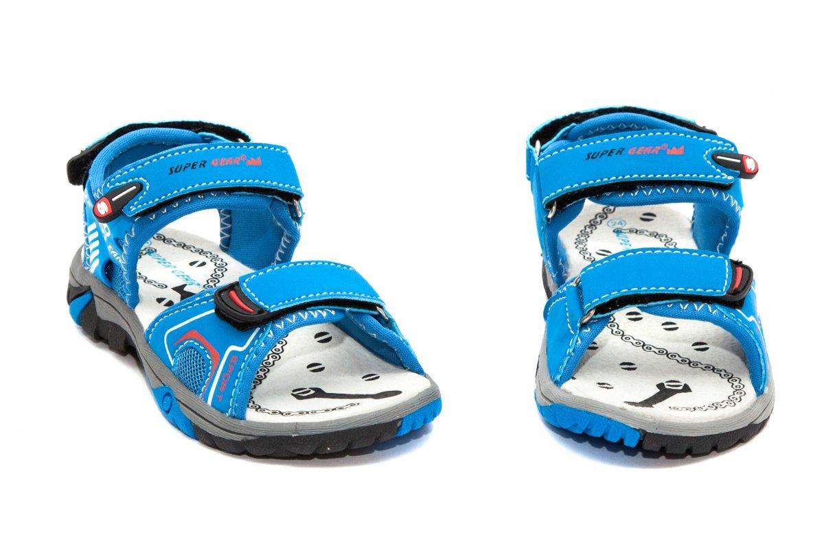 Sandale copii super gear 482 albastru 24-35