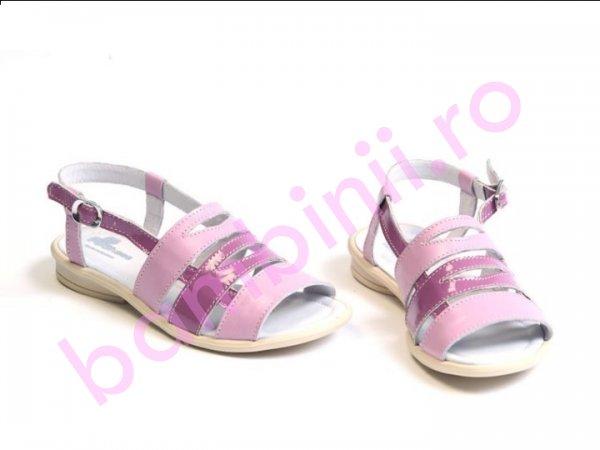 Sandale copii Vera lila-roz