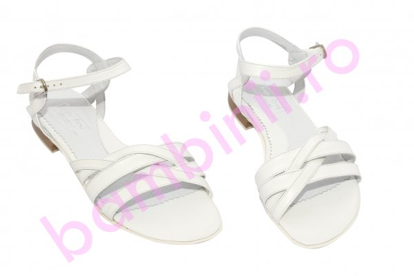 Sandale dama piele 121.8 alb 34-41