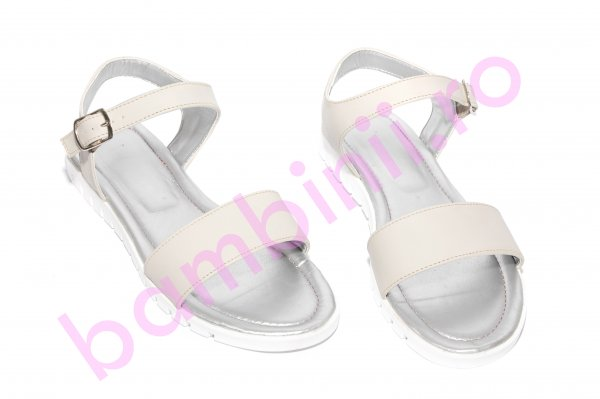 Sandale dama piele 222 bej 36-41