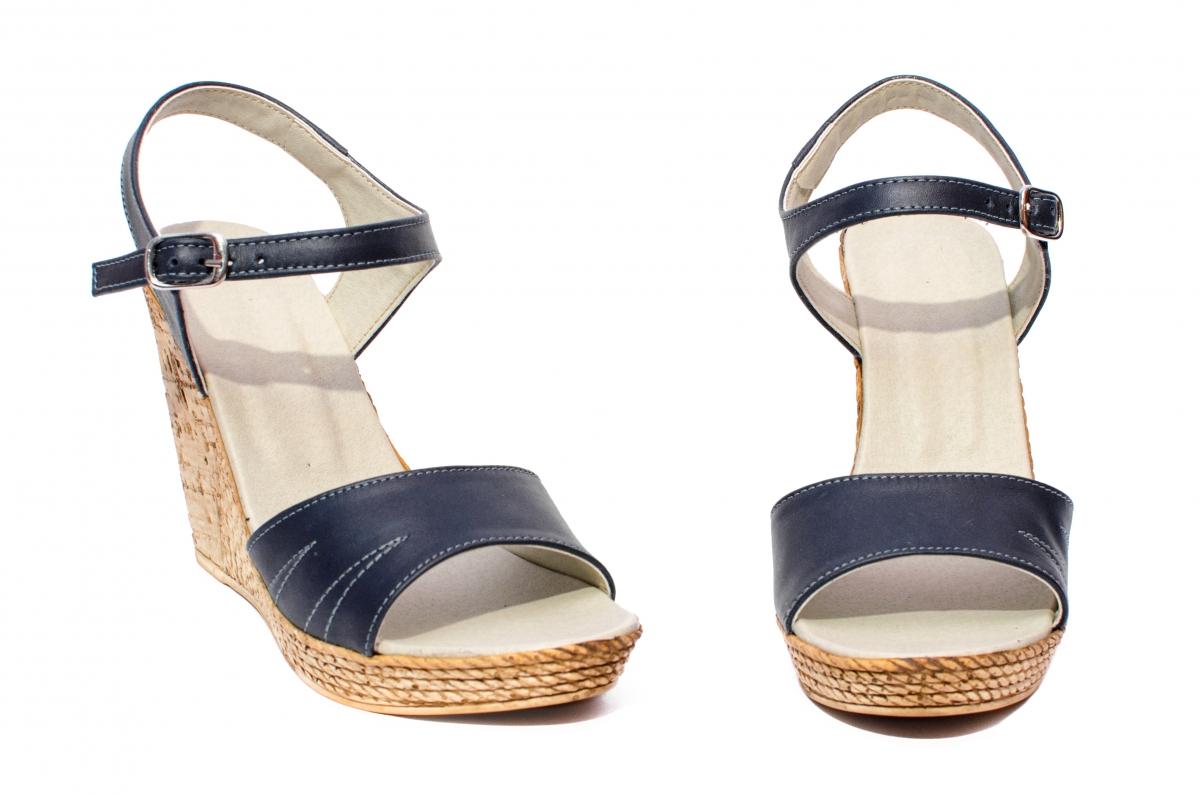 Sandale dama platforma Tisa 387 blu 35-40