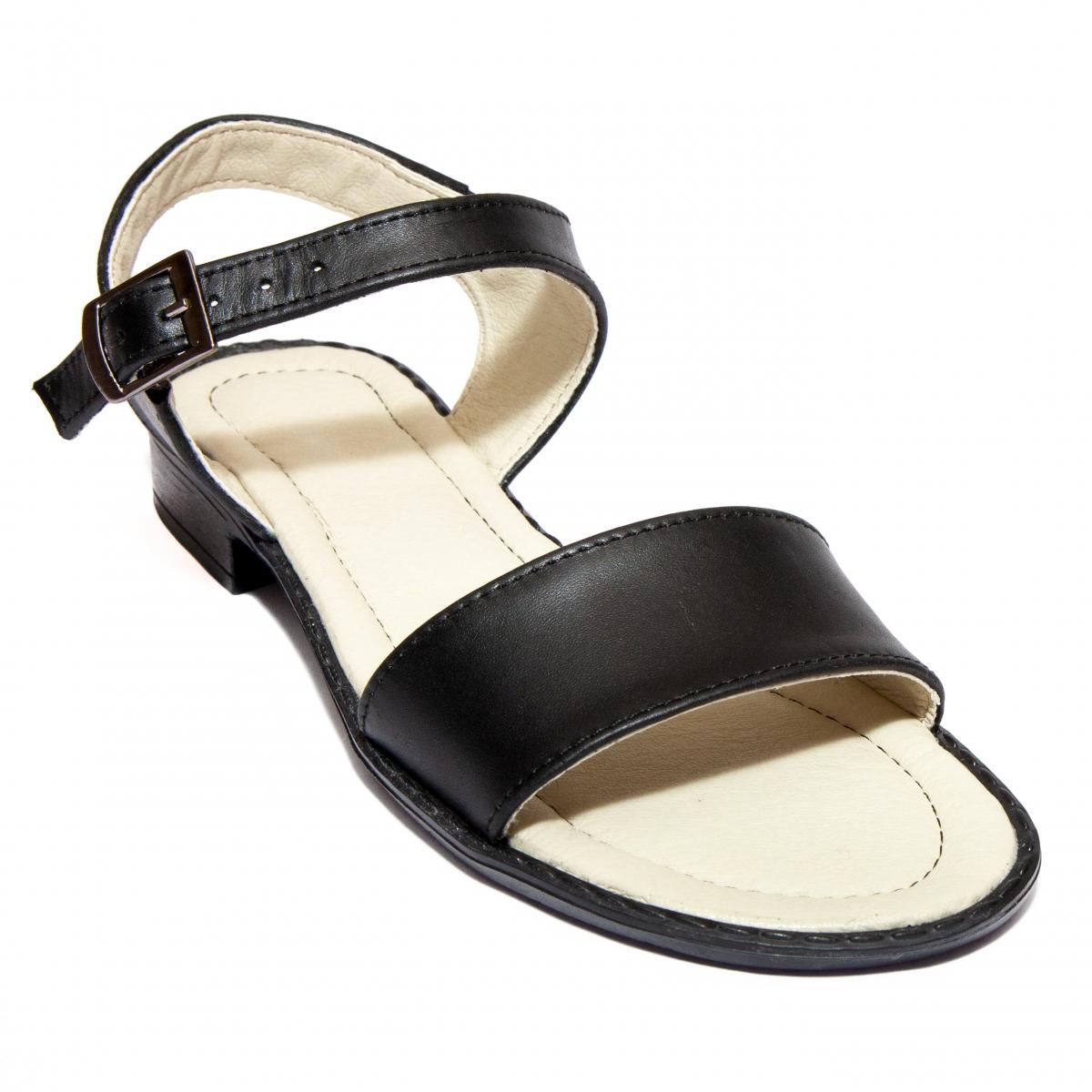 Sandale domnisoare Mina negru 33-40