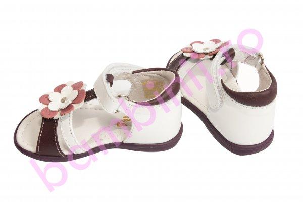 Sandale fete 101 alb mov 19-27