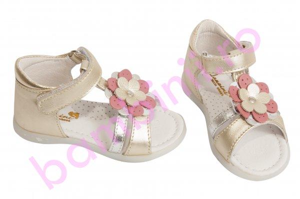 Sandale fete 101 auriu 19-27