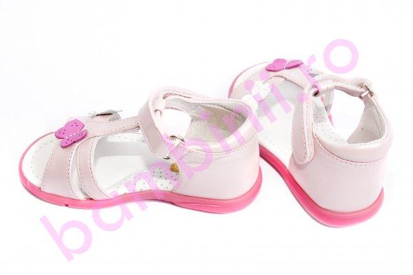 Sandale fete 101 roz fluture 19-27