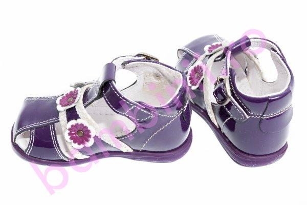 Sandale fete 103 mov lac 19-27