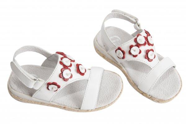 Sandale fete 1357 alb