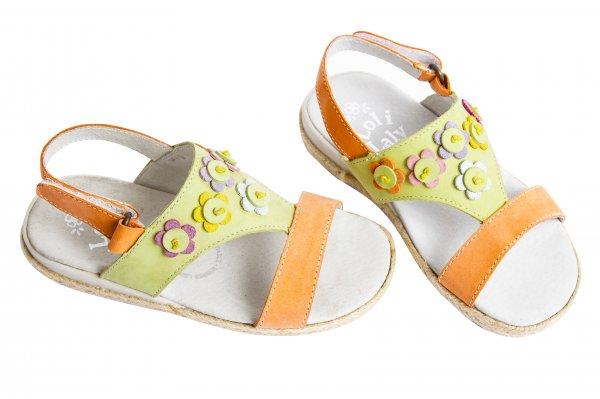 Sandale fete 1357 verde port