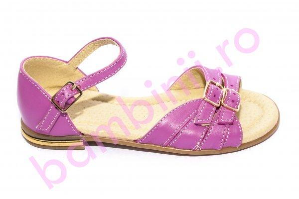 Sandale fete 1377 mov roz 26-36
