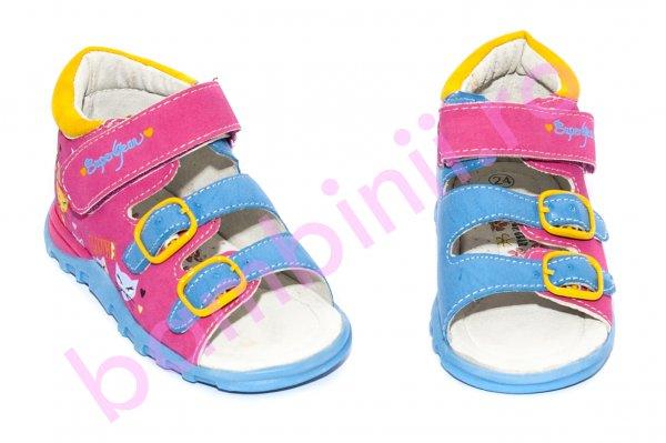Sandale fete 138 fuxia blue 24 -29