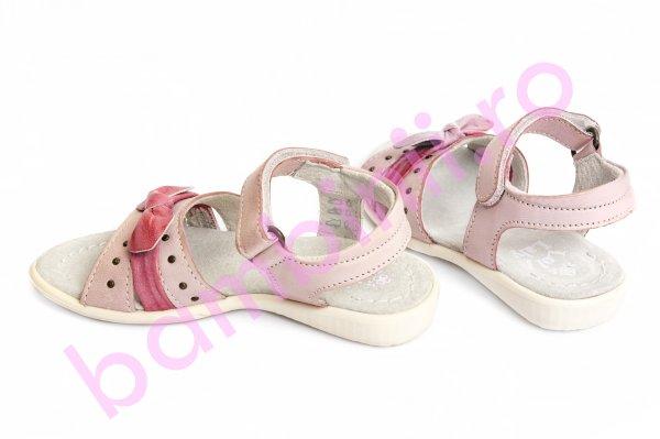Sandale fete 1404 roz 24-36