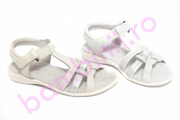 Sandale fete 1406 alb