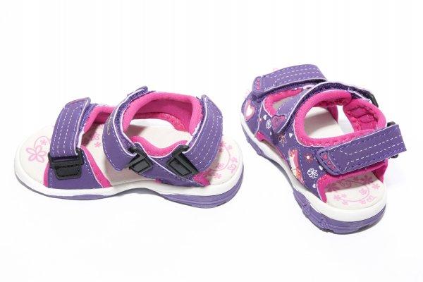 Sandale fete 308 mov 24-35