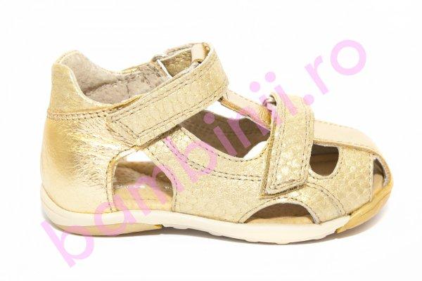 Sandale fete Mara auriu 18-26