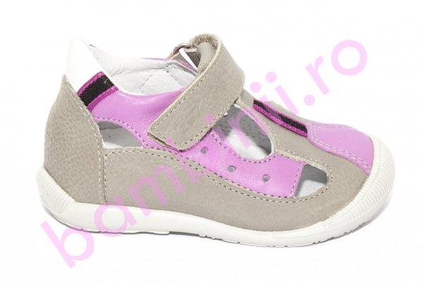 Sandale fete hokide 139 gri roz 18-24