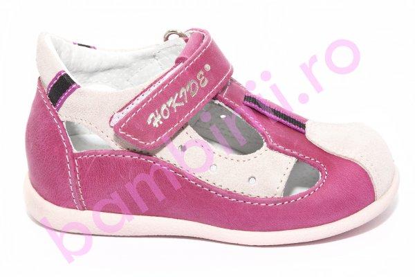 Sandale fete hokide 139 roz fuxia new 18-24