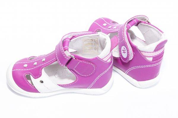 Sandale fete hokide 273 fuxia alb 18-24