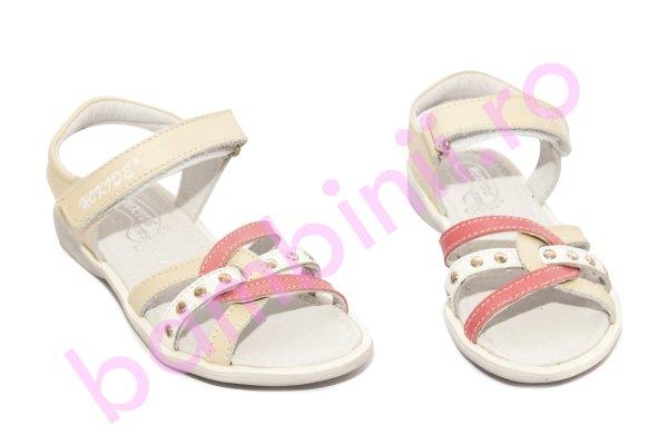Sandale fete hokide 359 bej roz 26-32