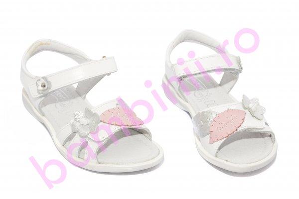 Sandale fete hokide 360 alb roz 26-32