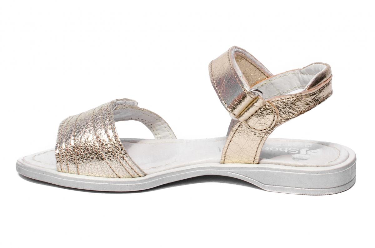 Sandale fete pj shoes Ana auriu 26-36