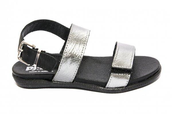 Sandale fete pj shoes Corso argintiu 27-36