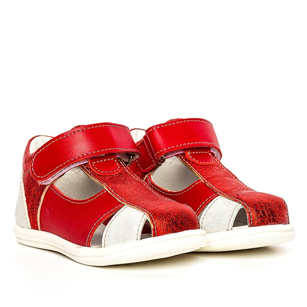 Sandale fete pj shoes Pablo rosu 18-26