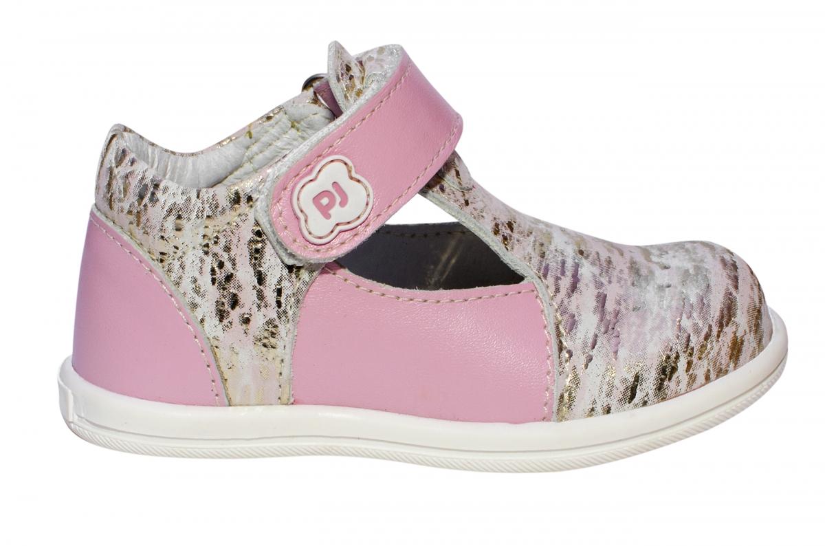 Sandale fete pj shoes Pablo roz print 18-26