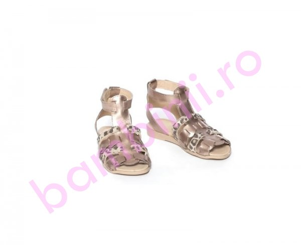 Sandale fete pj shoes dixie bronz