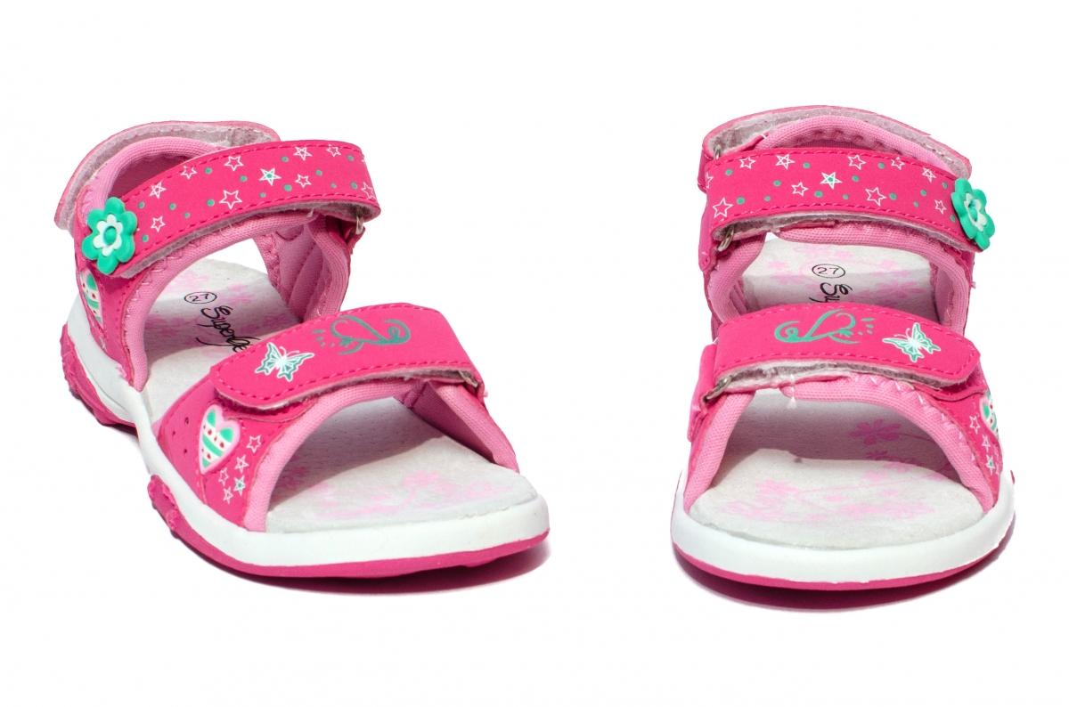Sandale fete sport 478 fuxia 24-35