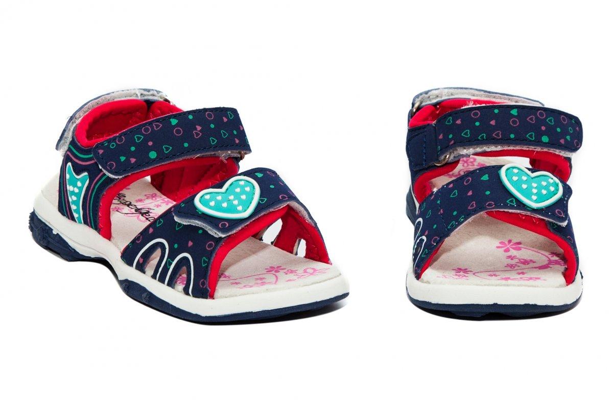 Sandale fete super gear 480 blu roz 24-30