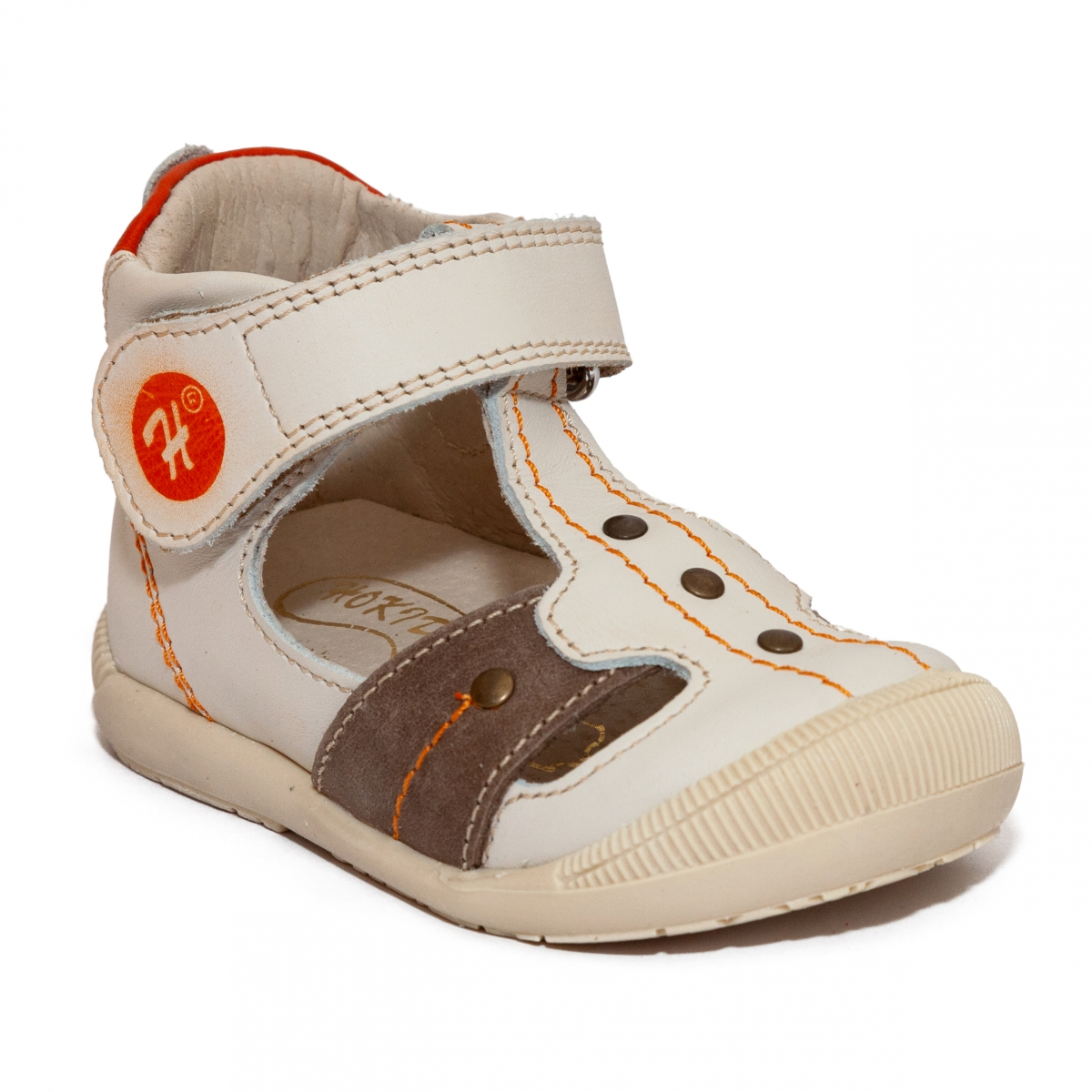 Sandale ortopedice copii 273 bej maro 18-24