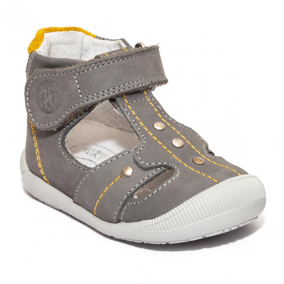 Sandale ortopedice copii hokide 273 gri bufo 18-24