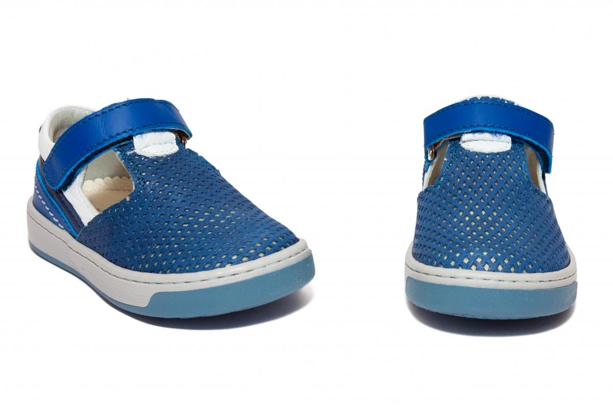 Sandalute baieti Avus 800 albastru 19-28