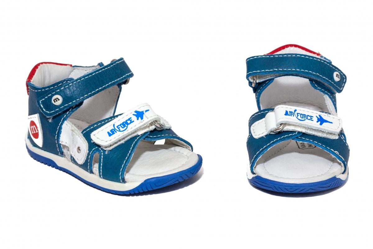 Sandalute baieti Melania 810 albastru 18-25