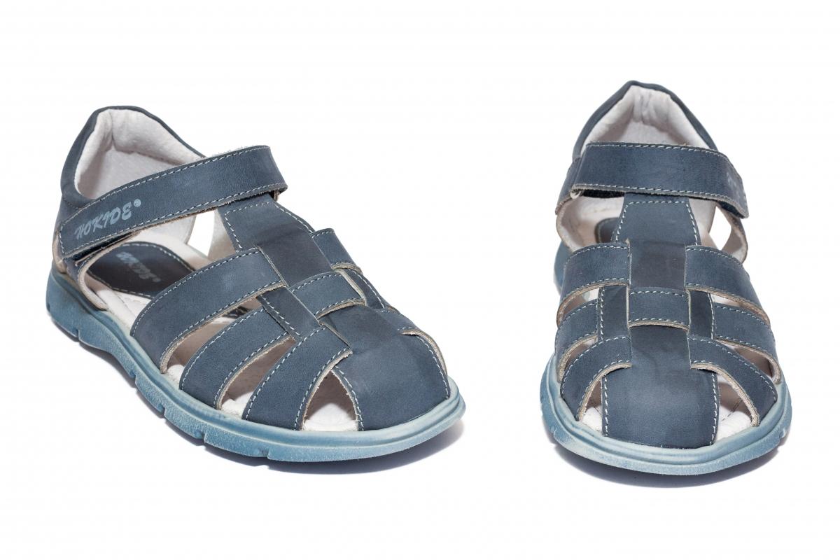 Sandalute baieti hokide 425 albastru 26-35