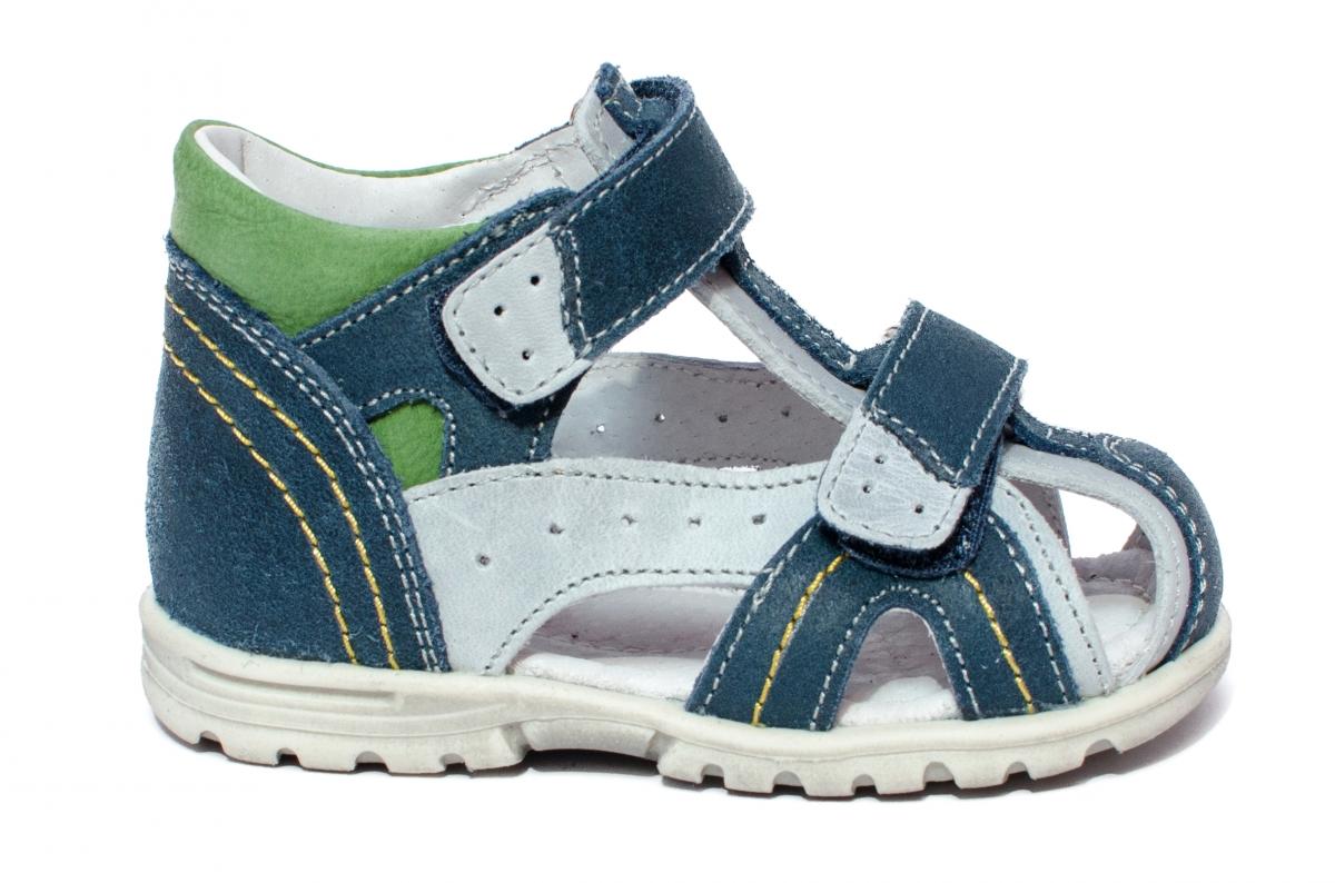 Sandalute baieti hokide 311 blu verde 18-25