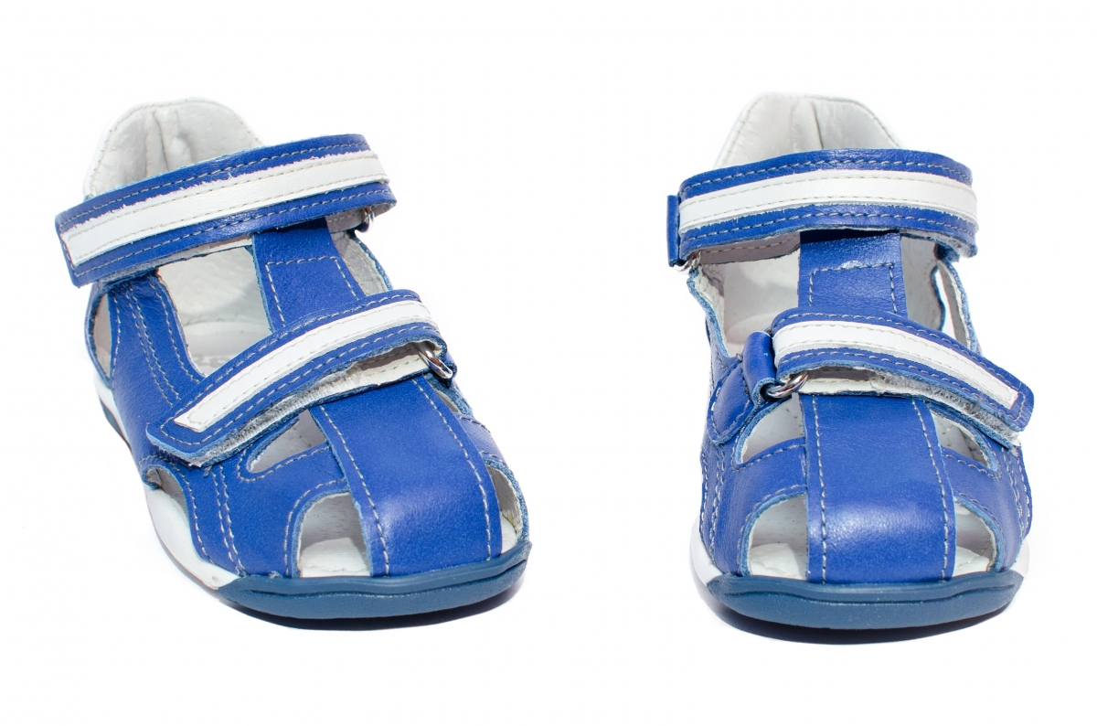 Sandalute baieti pj shoes Mario albastru 18-26