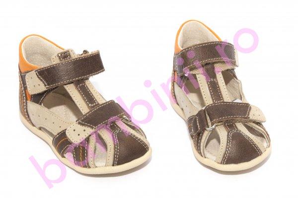 Sandalute copii hokide picior lat 311 maro 18-24