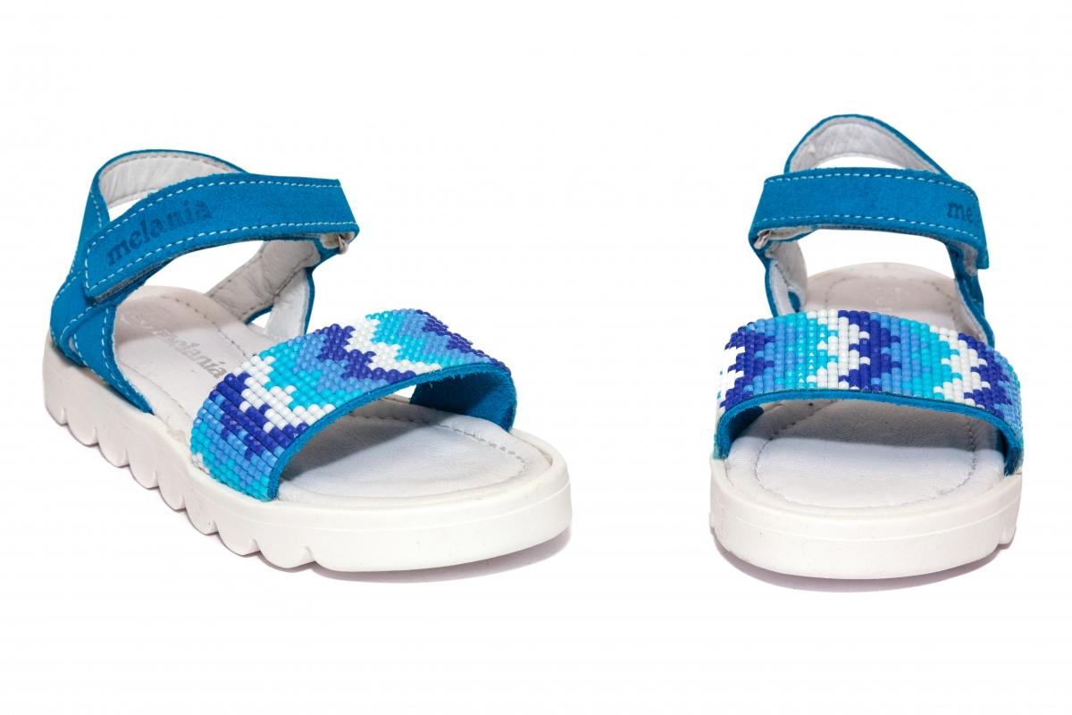 Sandalute fete Melania 8147 albastru 25-30