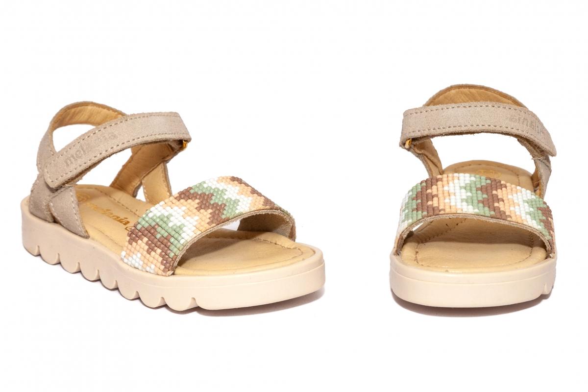 Sandalute fete Melania 8147 bej 19-25