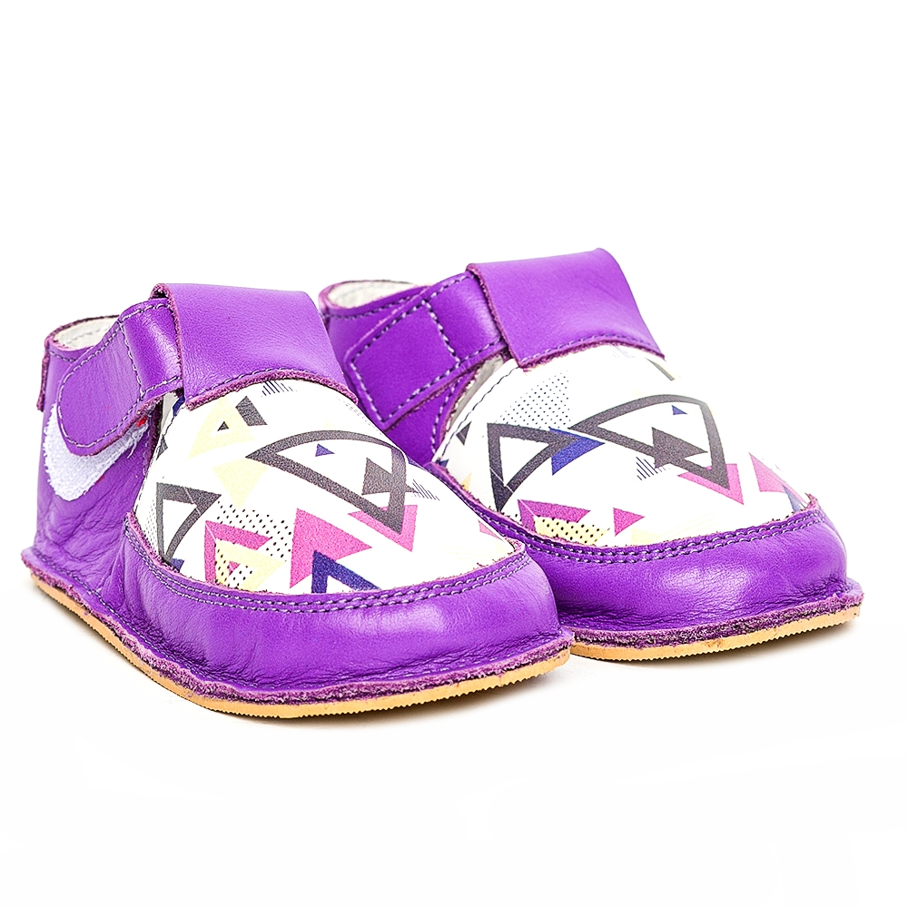 Sandalute fete cu talpa flexibila Woc 009 mov 18-25